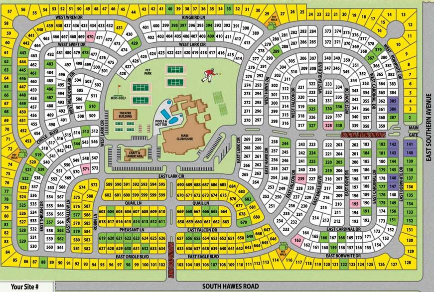Maps – Silveridge RV Resort